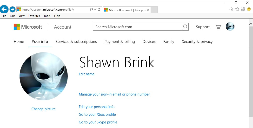 How to delete or remove your Windows 10 account picture?